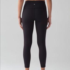 Lululemon high rise 7/8 luxtreme leggings